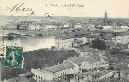 """CPA FRANCE 31 """"Toulouse, à vol d'oiseau"""""""