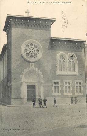 "CPA FRANCE 31 ""Toulouse, temple protestant"""