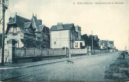 """/ CPA FRANCE 14 """"Riva Bella, boulevard de la manche"""""""