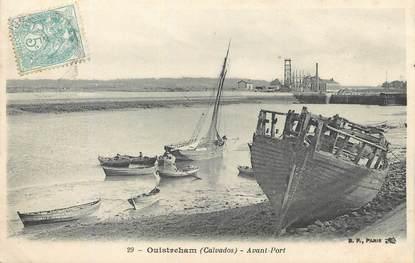 """/ CPA FRANCE 14 """"Ouistreham, avant port"""""""