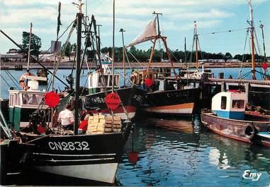 "/ CPSM FRANCE 14 ""Ouistreham Riva Bella, le port de pêche """
