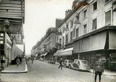 """CPSM FRANCE 37 """"Tours, la rue Nationale"""""""
