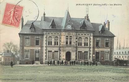 "/ CPA FRANCE 76 ""Malaunay, la mairie"""