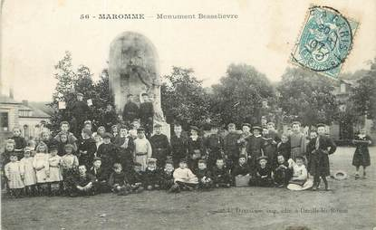 """/ CPA FRANCE 76 """"Maromme, monument Besselièvre"""""""