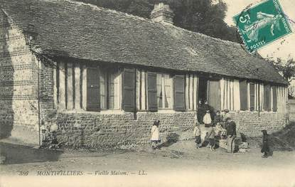 """/ CPA FRANCE 76 """"Montivilliers, vieille maison"""""""