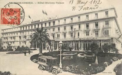 "CPA  FRANCE 06 ""Nice , Hotel Riviera Palace"""