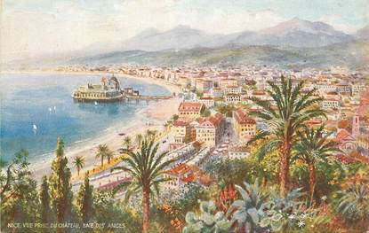 """CPA  FRANCE 06 """"Nice , baie des anges """" / TUCK"""