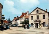 """91 Essonne CPSM FRANCE 91 """"Limours, Place du Marché"""""""