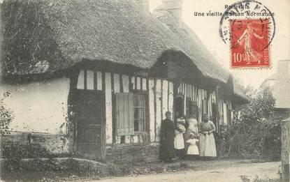 """/ CPA FRANCE 76 """"Rolleville, une vieille maison Normande"""""""