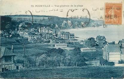 """/ CPA FRANCE 76 """"Pourville sur Mer, vue générale de la plage"""""""