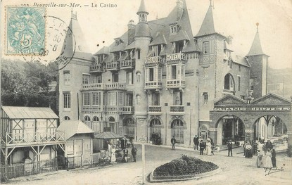 """/ CPA FRANCE 76 """"Pourville sur Mer, le casino"""""""