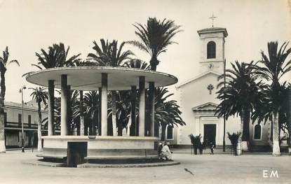 """CPSM ALGERIE """"Arzew, la place de l'Eglise """""""