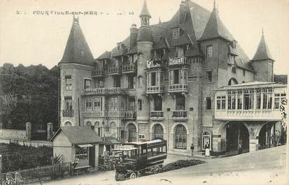 "/ CPA FRANCE 76 ""Pourville sur Mer, Grand hôtel"""