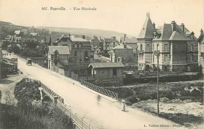 """/ CPA FRANCE 76 """"Pourville,  vue générale """""""