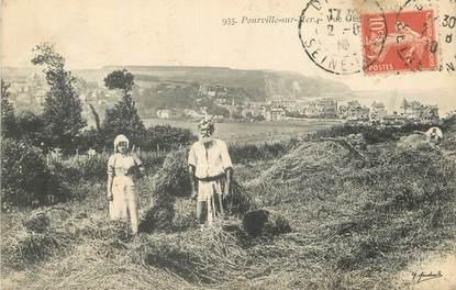 """/ CPA FRANCE 76 """"Pourville sur Mer, vue générale"""""""