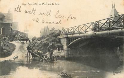 """/ CPA FRANCE 76 """"Pourville, pont de la Scie"""""""