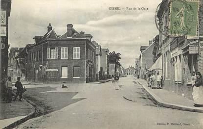 """/ CPA FRANCE 76 """"Oissel, rue de la gare"""""""
