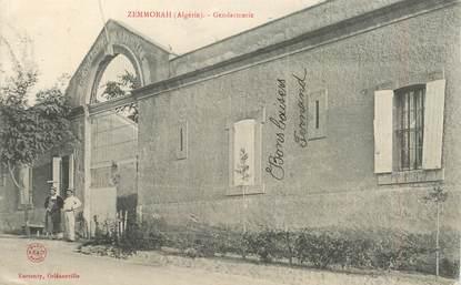 """CPA ALGERIE  """"Zemmorah, la gendarmerie"""""""