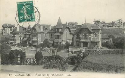 """/ CPA FRANCE 76 """"Mesnil Val, villas vues du val Heureux"""""""