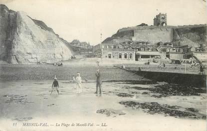"""/ CPA FRANCE 76 """"Mesnil Val, la plage"""""""