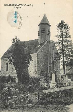 """/ CPA FRANCE 91 """"Courcouronnes, l'église"""""""