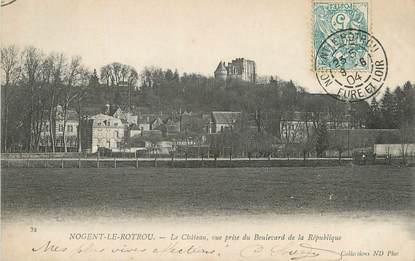 """/ CPA FRANCE 28 """"Nogent le Rotrou, le château"""""""
