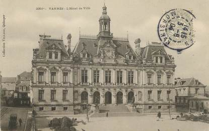"""/ CPA FRANCE 56 """"Vannes, l'hôtel de ville"""""""