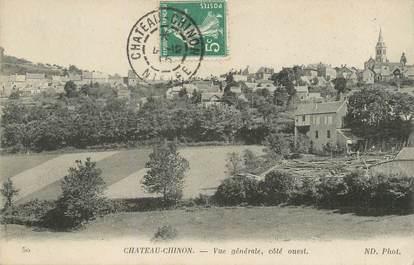 "/ CPA FRANCE 58 ""Château Chinon, vue générale """