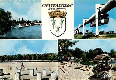 """CPSM FRANCE 45 """"Chateauneuf sur Loire"""" / Vues de la commune"""