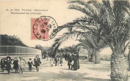 """/ CPA FRANCE 83 """"Toulon, Mourillon, boulevard du Littoral"""""""