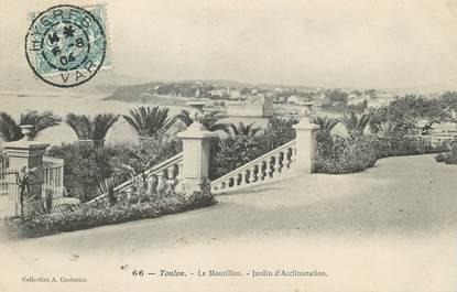 """/ CPA FRANCE 83 """"Toulon, le Mourillon, jardin d'Acclimatation"""""""