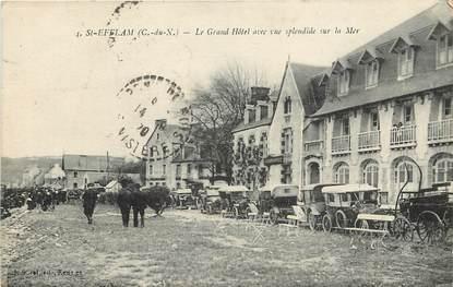 "CPA FRANCE 22 ""Saint Efflam, Le Grand Hotel"""