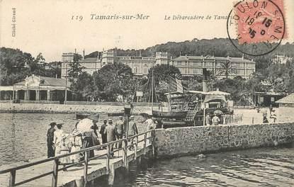 """/ CPA FRANCE 83 """"Tamaris sur Mer, le débarcadère de Tamaris"""""""