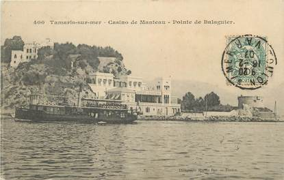 "/ CPA FRANCE 83 ""Tamaris sur Mer, casino de Manteau"""