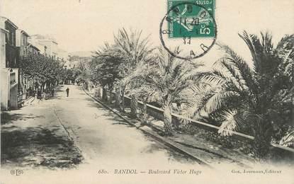 "/ CPA FRANCE 83 ""Bandol, boulevard Victor Hugo"""