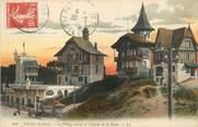 """62 Pa De Calai / CPA FRANCE 62 """"Le Touquet, Paris Plage, le village suisse et l'entrée de la forêt"""""""