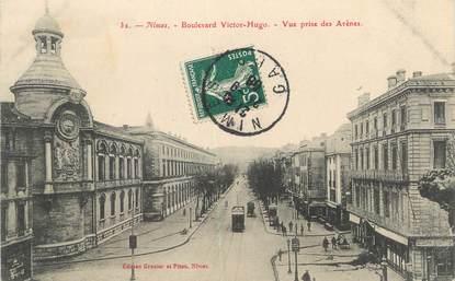 "/ CPA FRANCE 30 ""Nîmes, bld Victor Hugo"""