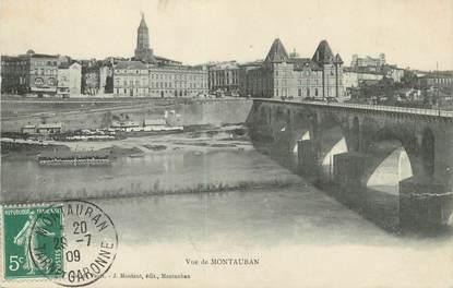 "/ CPA FRANCE 82 ""Vue de Montauban"""