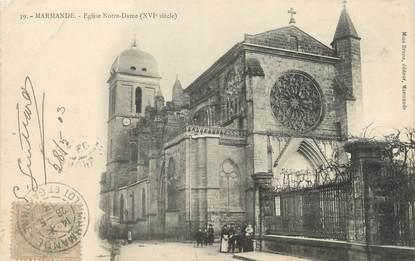 """/ CPA FRANCE 47 """"Marmande, église Notre Dame"""""""