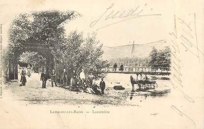 """CPA FRANCE 34 """"Lamalou les Bains, Lavernière"""""""