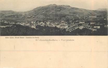 """CPA FRANCE 34 """"Lamalou les Bains, vue générale"""""""