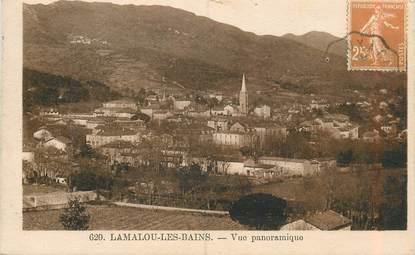 """CPA FRANCE 34 """"Lamalou les Bains, vue panoramique """""""
