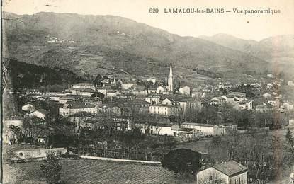 """CPA FRANCE 34 """"Lamalou les Bains,  vue panoramique"""""""