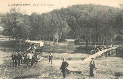 """CPA FRANCE 34 """"Lamalou les Bains,  Le Gué de la Vernière"""""""