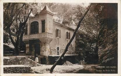 """CPSM FRANCE 34 """"Lamalou les Bains,  source du Petit Vichy """""""