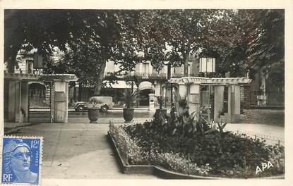 """CPSM FRANCE 34 """"Lamalou les Bains,  Hotel Mas vu du casino"""""""