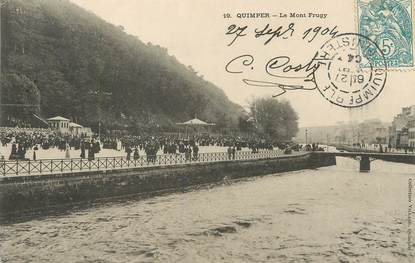 "/ CPA FRANCE 29 ""Quimper, le mont Frugy"""