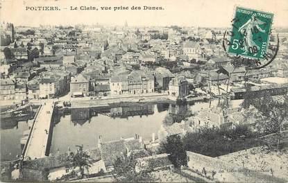 """/ CPA FRANCE 86 """"Poitiers, le clain, vue prise des Dunes"""""""