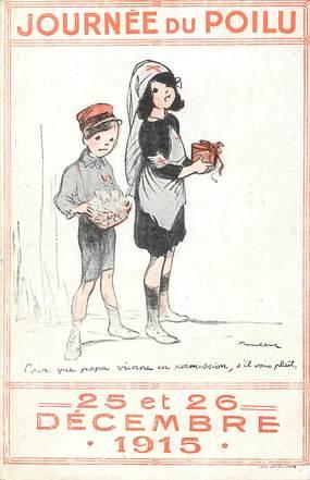 """CPA ILLUSTRATEUR POULBOT """"Journée du Poilu"""""""