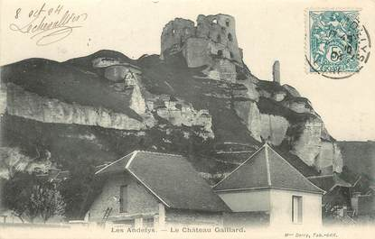 "/ CPA FRANCE 27 ""Les Andelys, le château Gaillard"""